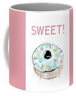 Sweet Donut- Art By Linda Woods Coffee Mug