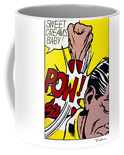 Sweet Dreams Baby Coffee Mug by Roy Lichtenstein