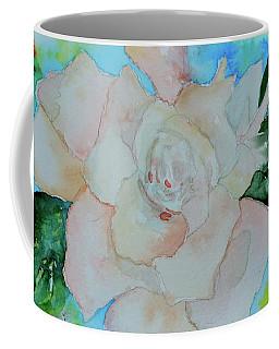 Coffee Mug featuring the painting Sweet Gardenia by Beverley Harper Tinsley