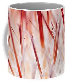 Sweet Gentle Pink Blooming Cacti Coffee Mug
