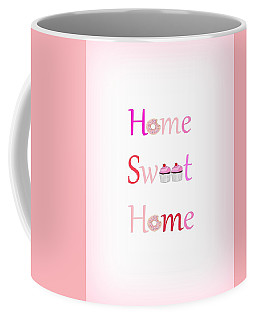 Sweet Home - Typography Coffee Mug