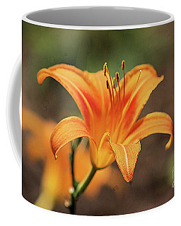 Sweet Lilly In Orange Coffee Mug