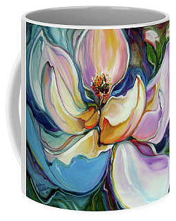 Sweet Magnoli Floral Abstract Coffee Mug