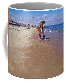 Coffee Mug featuring the painting Sweet Memories by Laura Lee Zanghetti