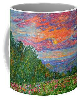Sweet Pea Morning On The Blue Ridge Coffee Mug