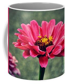 Sweet Pink Zinnia Coffee Mug