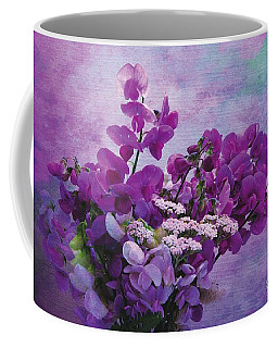 Sweet Purple Bouquet Coffee Mug