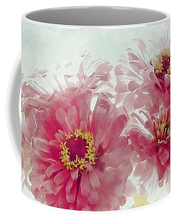 Coffee Mug featuring the photograph Sweet Zinnias by Patricia Strand