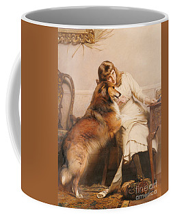Sweethearts, 1890 Coffee Mug