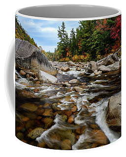 Coffee Mug featuring the photograph Swift River Autumn Nh by Michael Hubley