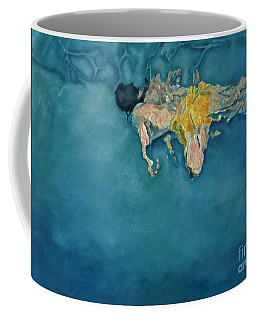 Swimmer In Yellow Coffee Mug