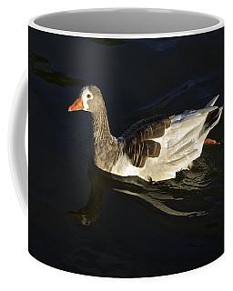 Swimming Goose Coffee Mug