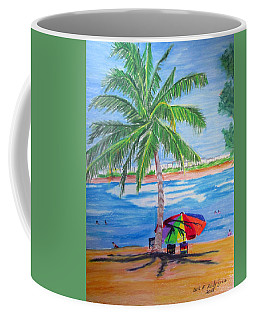 Swimming In Jobo Beach Coffee Mug