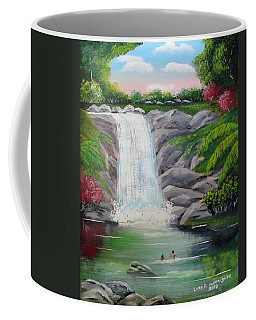 Swimming In Paradise Coffee Mug