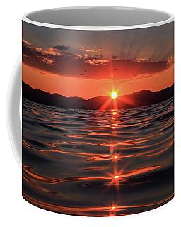 Swimming Into Tahoe's Magic Light Coffee Mug