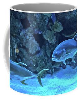 Swimming On The Bottom Coffee Mug