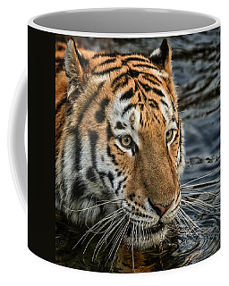 Swimming Tiger Coffee Mug
