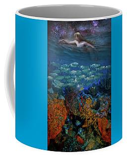 Swimming Under The Stars Coffee Mug