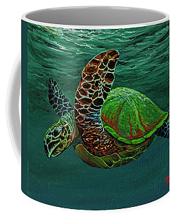 Swimming With Aloha Coffee Mug