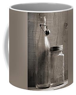 Jar And Bottle  Coffee Mug by Sandra Church