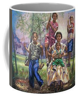 Swinging In The Shade Coffee Mug