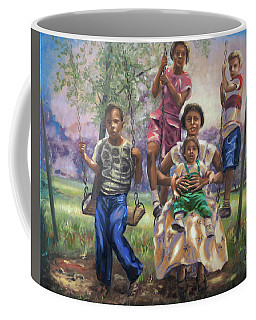 Swinging In The Shade Coffee Mug