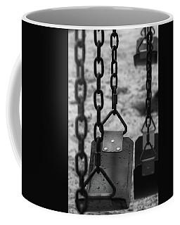 Coffee Mug featuring the photograph Swings by Richard Rizzo