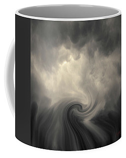 Coffee Mug featuring the photograph Swirl Wave Vi Toned by David Gordon