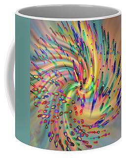 Swirligigs Coffee Mug by Cathy Donohoue