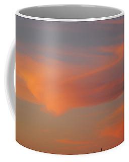 Swirling Clouds In Evening Coffee Mug