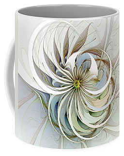 Swirling Petals Coffee Mug