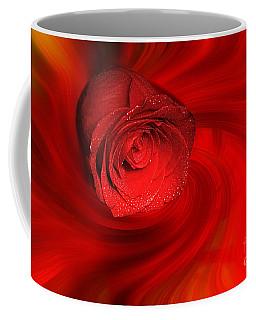 Swirling Rose Coffee Mug