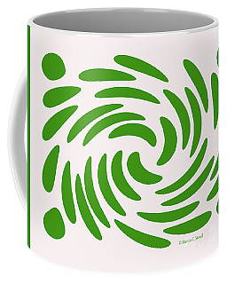 Swirls N Dots S1 Coffee Mug