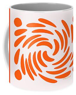 Swirls N Dots S5 Coffee Mug