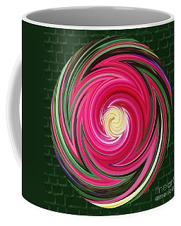 Coffee Mug featuring the photograph Swirls Of Color by Sue Melvin