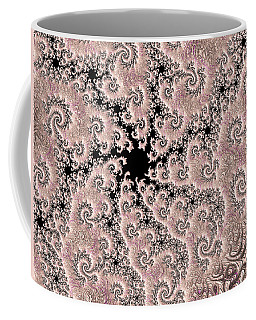 Swirly Pink Fractal 2 Coffee Mug