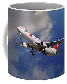 Swiss Airbus A330-343 Coffee Mug