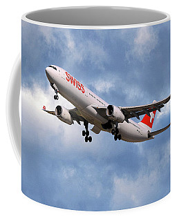 Swiss Airbus A330-343 Coffee Mug