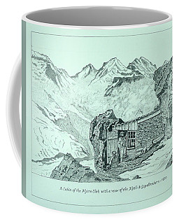 Swiss Alpine Cabin Coffee Mug