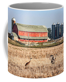 Swiss Cranes Coffee Mug