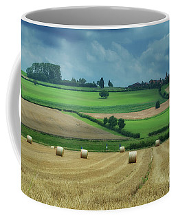 Swiss Landscape Coffee Mug by Michelle Meenawong