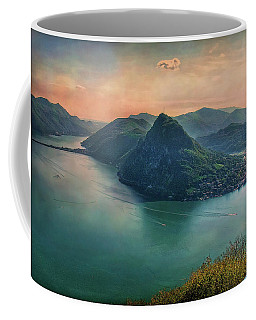 Coffee Mug featuring the photograph Swiss Rio by Hanny Heim