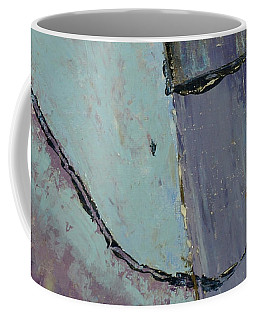 Coffee Mug featuring the painting Swiss Roof by Paul McKey
