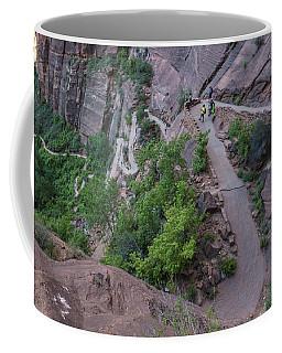 Switch Backs Zion National Park Coffee Mug