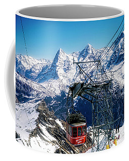 Switzerland Alps Schilthorn Bahn Cable Car  Coffee Mug