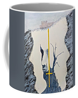 Sword Of Gold Coffee Mug