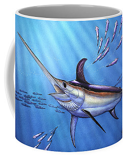 Swordfish In Freedom Coffee Mug