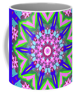 Swords And Flowers Coffee Mug