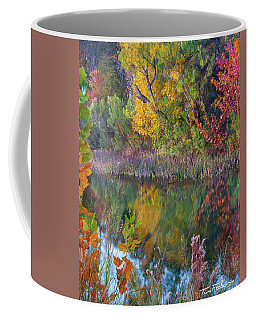 Sycamores And Willows Coffee Mug