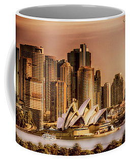 Coffee Mug featuring the photograph Sydney Cityscape by Wallaroo Images